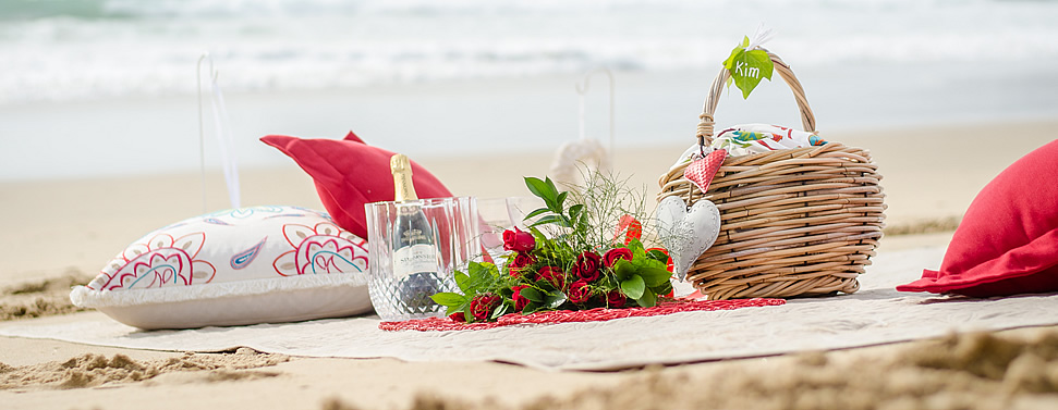 Picnic on the beach African Oceans Mossel Bay