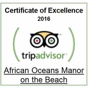 African oceans manor mossel bay accommodation tripadvisor certificate