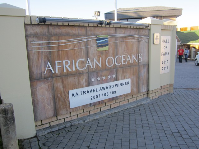 African-Oceans-Manor entrance gate